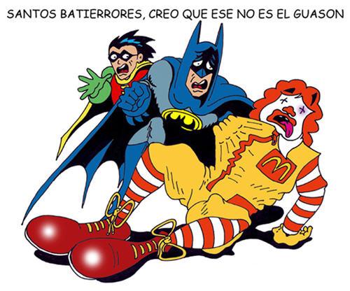 El Guason, Ronald McDonald y los errores de Batman