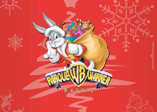 ... » Humor grafico » Otros » Tapiz de Navidad Looney Tunes