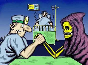 La vida de un paciente... Tuyo o mío?