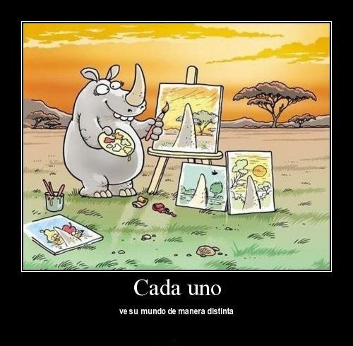 Rinoceronte pintor