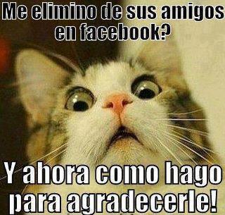 Me elimino de facebook - Memes - Humor12.com