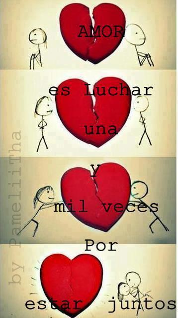 el amor de los dos: